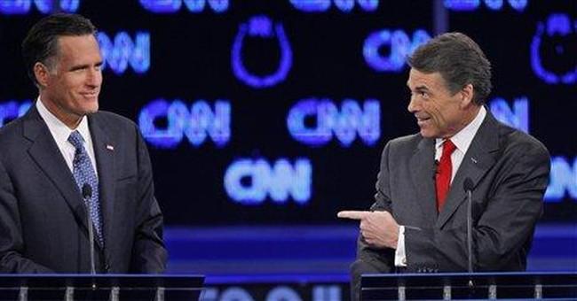All against Cain: Upstart targeted in GOP debate