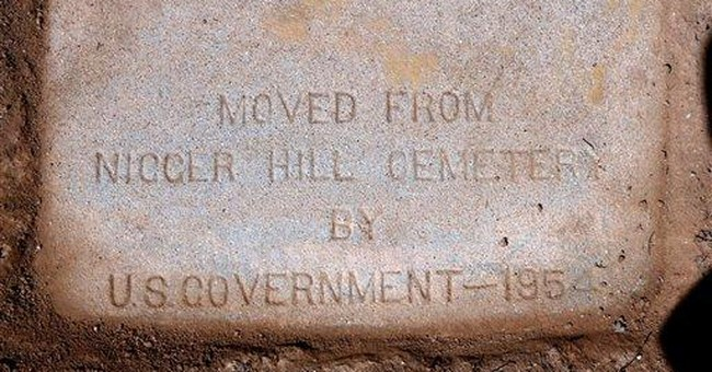 Calif. headstones marked with racial slur replaced