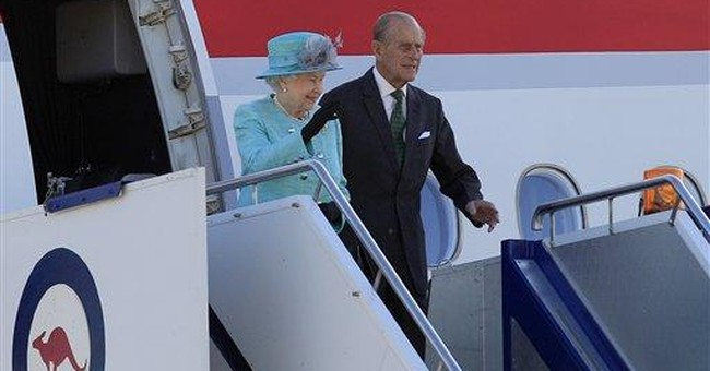 Queen Elizabeth gets warm welcome in Australia