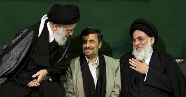 Iran's supreme leader ups fight with Ahmadinejad
