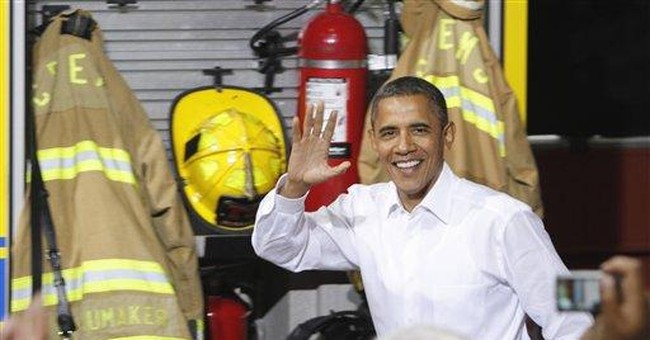 Obama teams up with wife to finish bus tour
