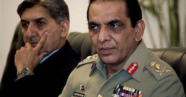 Pakistan army chief tells US: focus on Afghanistan