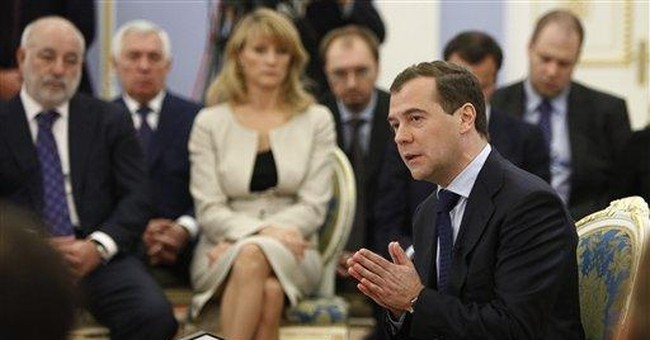 Medvedev says Russia must avoid stagnation