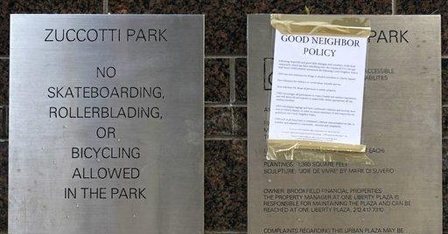 Owner of NYC protest park navigates a dilemma