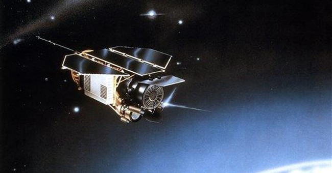 Satellite pieces may hit Earth on weekend