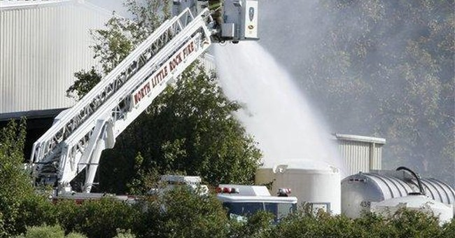 Acetone catches fire at Ark. nail products company