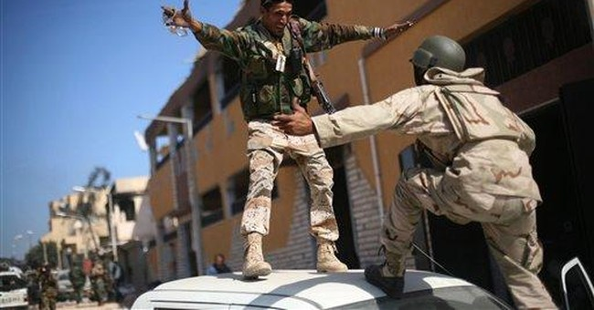 Libya war's end is rare victory for NATO