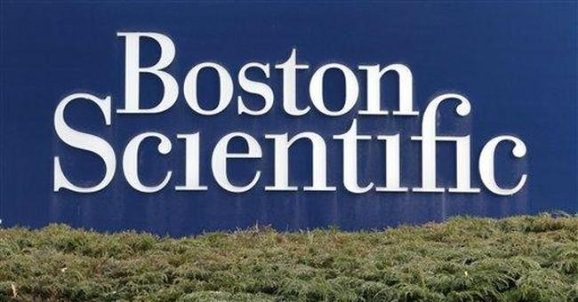 Boston Scientific reports 25 pct fall in 3Q profit