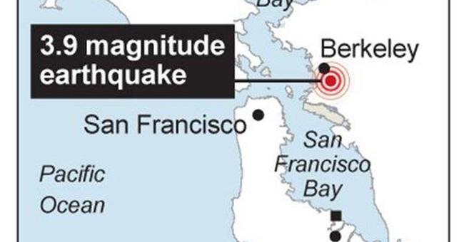 Second quake jolts San Francisco Bay area