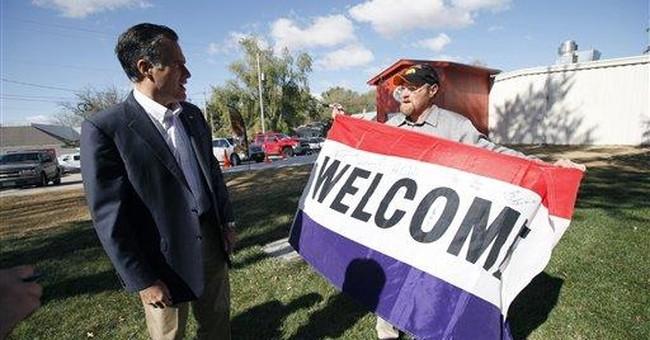 After low-key start, Romney talks of winning Iowa