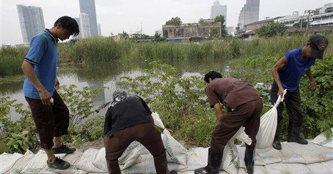 Flooding fears loom large for Bangkok residents