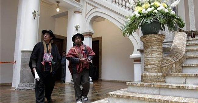 Bolivia's Morales abandons Amazon jungle highway
