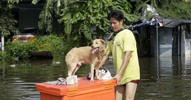 Thailand counting cost as flood seeps into Bangkok