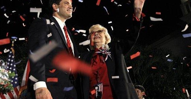 Florida senator denies embellishing family history
