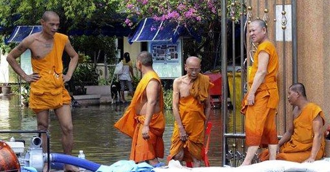Thailand leader says floods may last 6 more weeks