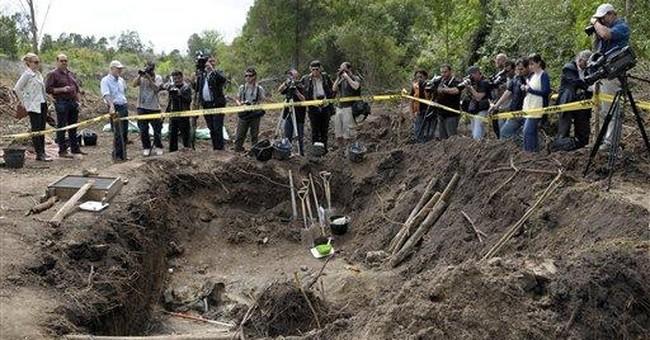 Uruguay finds bones of possible dirty war victim