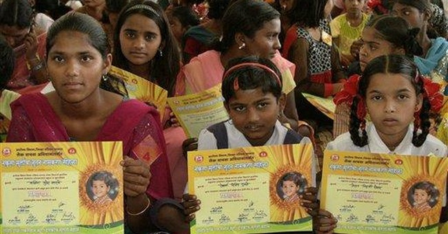 285 Indian girls shed 'unwanted' names