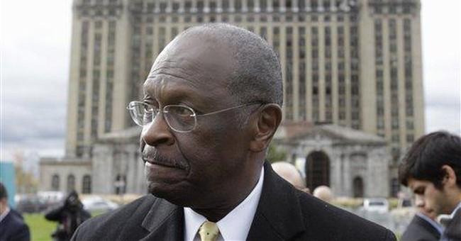 Cain stumbling under glare of national spotlight