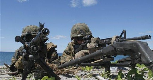 US, Filipino marines hold drill near disputed area
