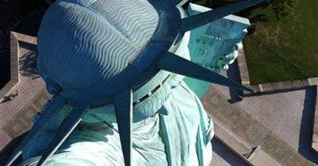 Torch cams to give masses views from Lady Liberty