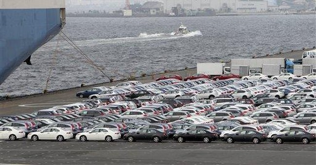Japan exports rise for 2nd month in recovery sign