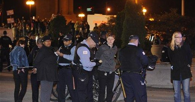 Occupy Chicago: 130 arrested in city park protest