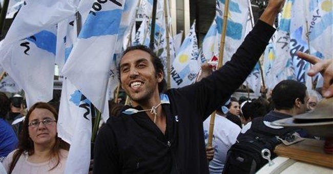 Boom times fuel Argentine president's re-election