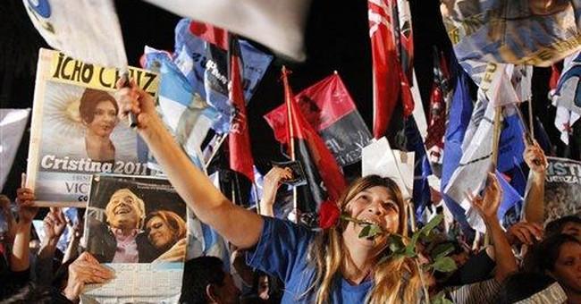 Keys to Argentine president's landslide victory