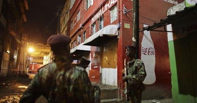 2 grenade blasts rattle Nairobi; at least 1 dead
