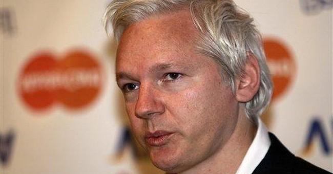 Assange: Financial blockade may close WikiLeaks