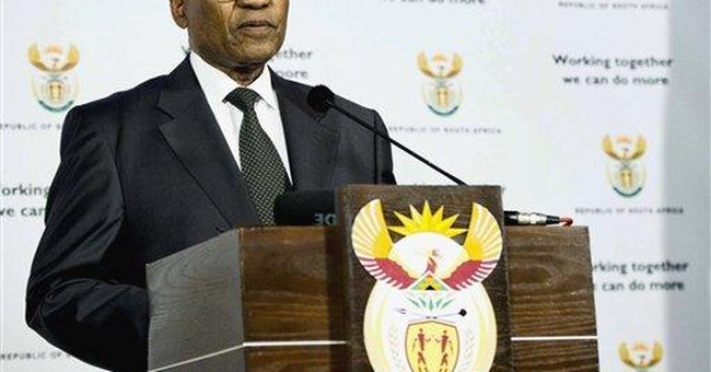 S.Africa: 2 ministers axed, police chief suspended