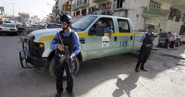 Baghdad bombs target traffic police, 1killed