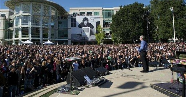 Apple posts video of Jobs memorial on Apple.com