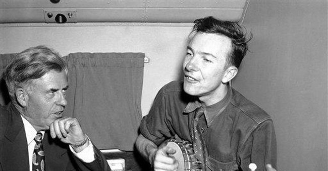 Pete Seeger enters 9th decade as an activist