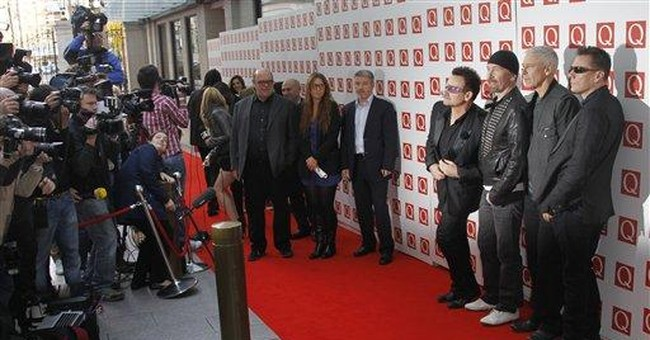 U2 honored as 'Greatest Act' in last 25 years