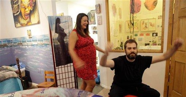 NYC artist plans birth as performance art