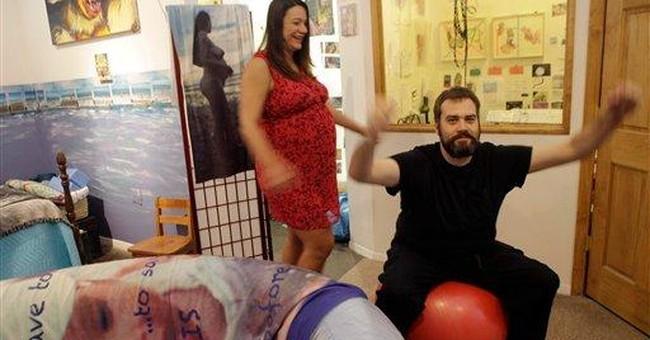 NYC artist plans birth as performance art