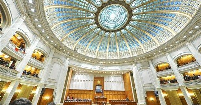 Ex-Romanian king addresses parlt on 90th birthday