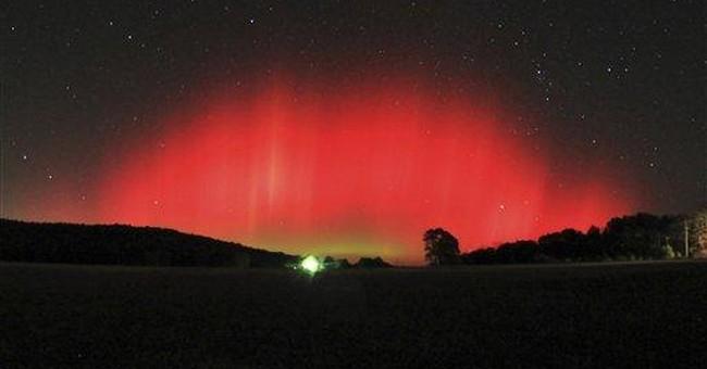Northern lights take unusual trip down south