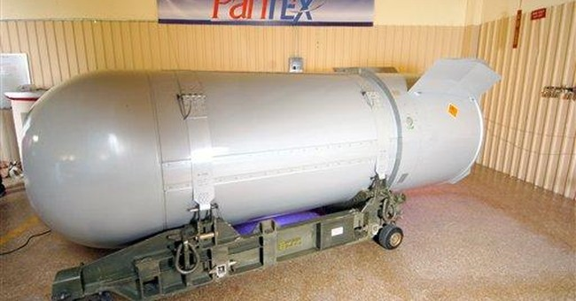 US's biggest nuclear bomb dismantled in Texas