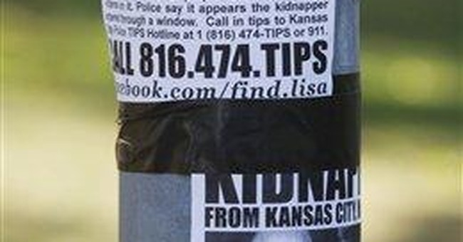 Kansas City police search lake for missing baby