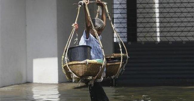 Thai floods shut Bangkok's second largest airport