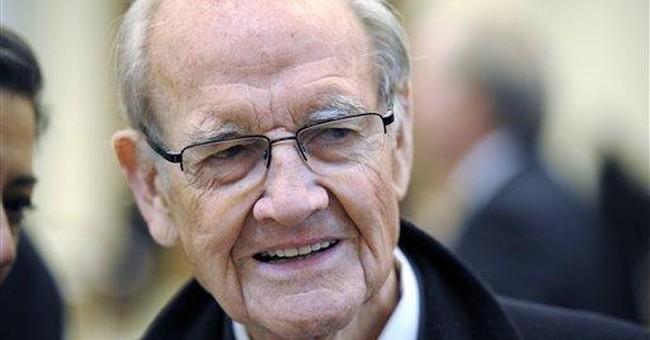 George McGovern hospitalized in South Dakota