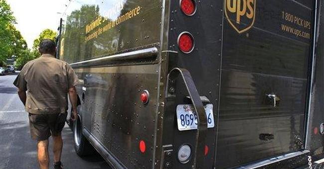 UPS 3Q profit rises 5 percent, keeps year view