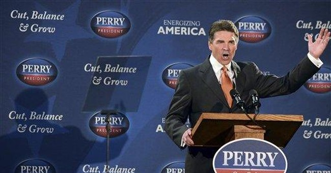 Perry sidesteps questions about Obama's birthplace