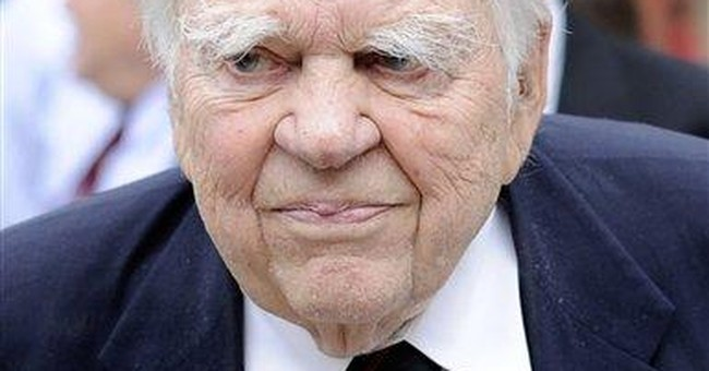 CBS: Andy Rooney hospitalized in serious condition