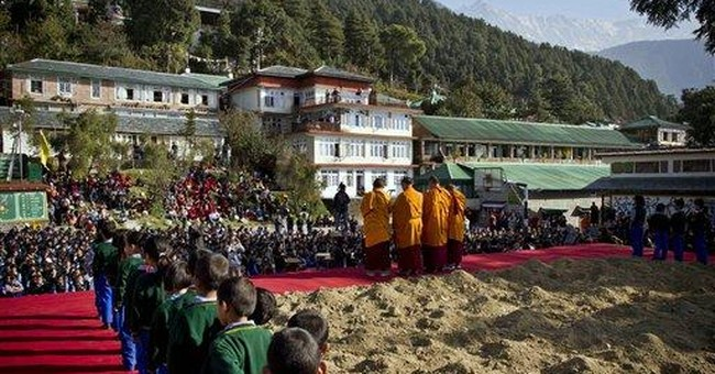 Art installation evokes nostalgia for Tibetan home