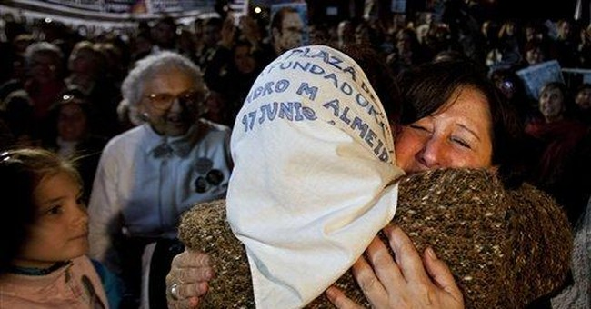 12 agents get life for Argentina dirty war crimes