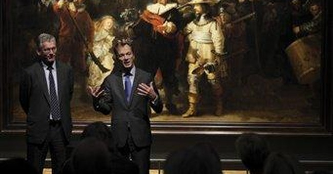 New lights turn Rembrandt's 'Night Watch' to day