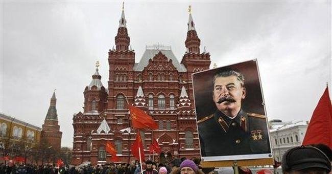 Russian activists decry failure to denounce Stalin